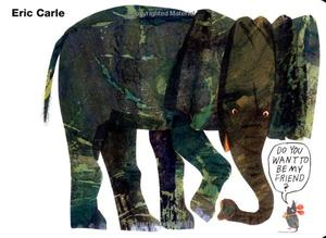 【Eric Carle】Do you want to be my friend?,你想和我做朋友吗?