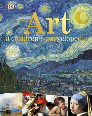 Art A Children's Encyclopedia,儿童艺术百科全书