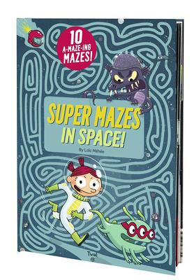 【pop-up seek-and-find book】Super Mazes in Space!,【立体解谜找图】太空超级迷宫