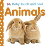 【Baby touch and feel】Animals,【触摸书】动物