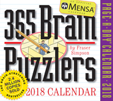 Mensa 365 Brain Puzzlers Page-A-Day Calendar 2018,365个门萨益智谜题 2018年日历