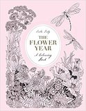 The Flower Year: A Colouring Book,花之年:一本填色书