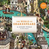 The World of Shakespeare: A Jigsaw Puzzle,莎士比亚的世界:拼图游戏