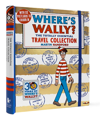 【WHERES WALLY?】 The Totally Essential Travel Collection,【威利在哪里?】旅行套装
