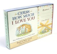 Guess How Much I Love You: Book & Baby Cards: Milestone Moments Gift Set,猜猜我有多爱你:书&宝贝卡片(礼盒装)