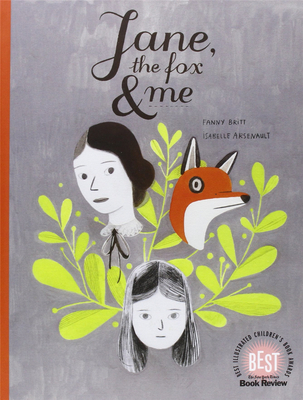 Jane, the Fox and Me,【蒙特利爾插畫師Isabelle Arsenault】简,狐狸和我