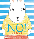 No! Said Rabbit,不!兔子说
