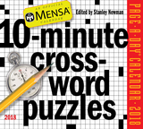 Mensa 10-Minute Crossword Puzzles Page-A-Day Calendar 2018,10分钟门萨益纵横填字谜 2018年日历