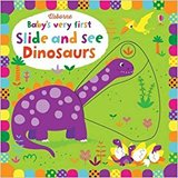 【Baby's very first Slide and See】Dinosaurs,【滑动看】恐龙
