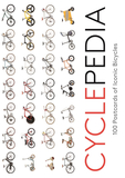 Cyclepedia: 100 Postcards of Iconic Bicycles,100张标志性自行车明信片