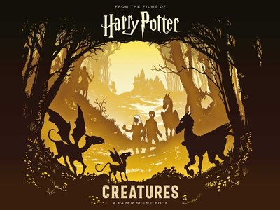 【Pop-up】Harry Potter: Creatures: A Paper Scene Book,【立体书】哈利波特:魔法生物书