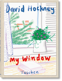 【Collector's Edition】DAVID HOCKNEY. MY WINDOW,大卫霍克尼:我的窗户