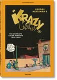 "George Herriman's Krazy Kat. The Complete Color Sundays 1935-1944,乔治·赫尔曼的""疯狂猫"".1935年至1944年全彩合集"
