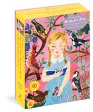 【500-Piece Puzzle】The Girl Who Reads to Birds ,给小鸟读书的女孩拼图