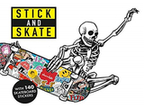 Stick and Skate: Skateboard Stickers,滑板文化:滑板贴纸书