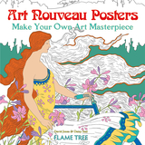 【Make Your Own Art Masterpiece】Art Nouveau Posters,新艺术风格的海报