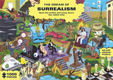 The Dream of Surrealism:1000-Piece Art History Jigsaw Puzzle,超现实主义之梦:1000张艺术史拼图