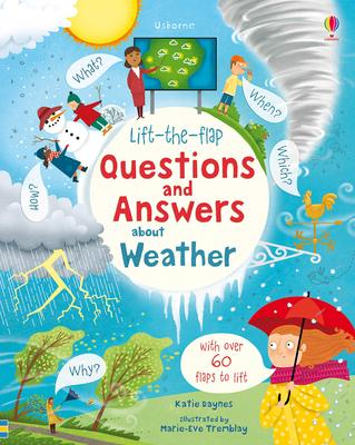 【Lift-the-Flap 】Questions and Answers About Weather,【翻翻书】关于天气的问答