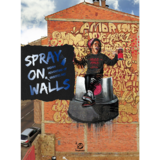 Spray on Walls: Urban Adventure of Graffiti Art,视觉亚文化:涂鸦