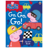 【Peppa Pig】Go, Go, Go!: Vehicles Sticker Book,【粉红猪小妹】出发!出发!(贴纸书)