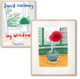 【Art Edition】David Hockney. My Window. Art B,大卫霍克尼,窗户 艺术品B