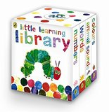【The Very Hungry Caterpillar】Little Learning Library,【Eric carle艾瑞‧卡尔】故事书(四本装)