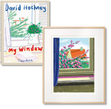 【Art Edition】David Hockney. My Window. Art D,大卫霍克尼,窗户 艺术品D