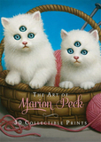 The Art of Marion Peck: 30 Collectible Prints: A Portfolio of 30 Deluxe Postcards,马里恩·派克的艺术:30张可收藏的明
