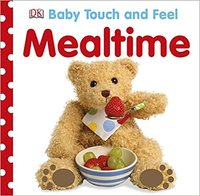 【Baby touch and feel】Mealtime,【触摸书】吃饭时间