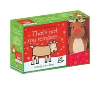 【That's not my】Reindeer Book and Toy,【触摸书】那不是我的:驯鹿(书+玩具)